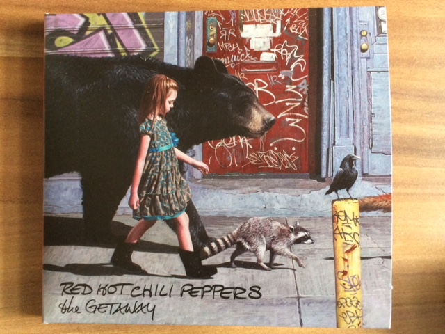 Red Hot Chili Peppers – The Getaway:  California Roadtrip Soundtrack